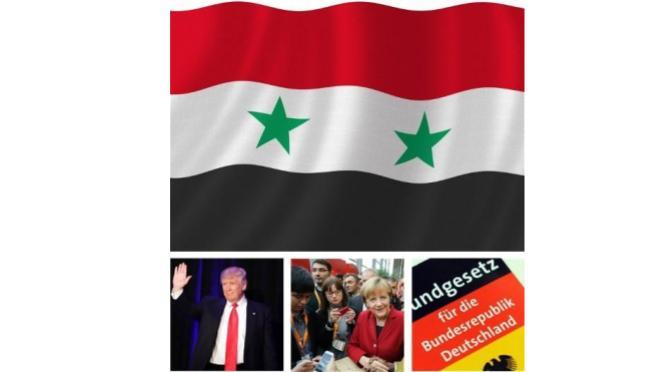Der unerlaubte kriegerische US Angriff auf einen syrischen Flughafen.