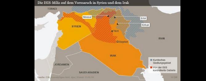 Auffälligkeiten in der Berichterstattung – IS – Irak – Kurdistan!